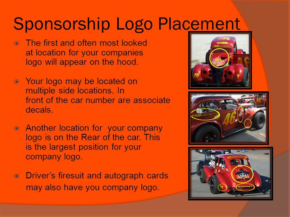 Sponsorship Logo Placement