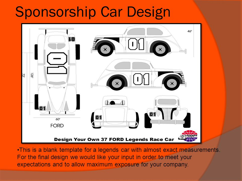 Sponsorship Car Design