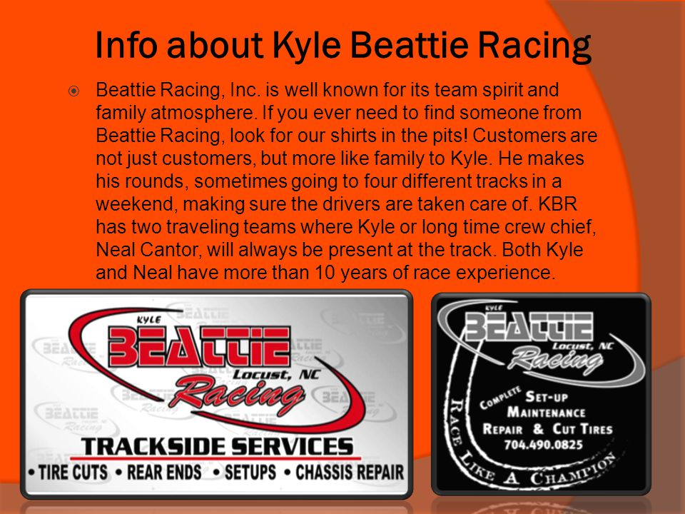 Info about Kyle Beattie Racing
