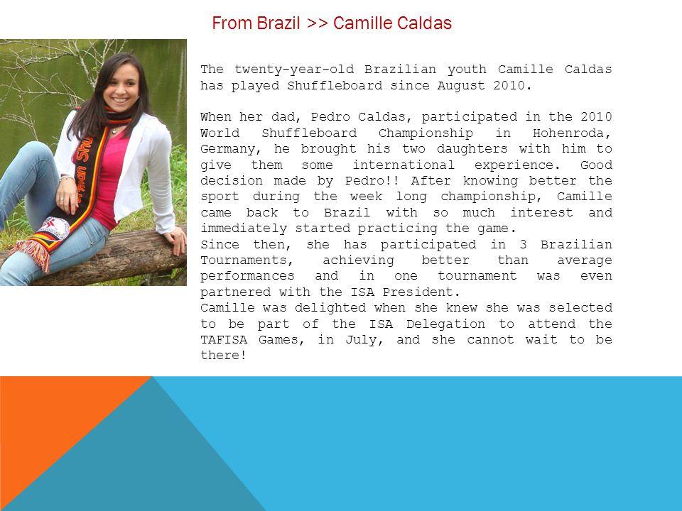 From Brazil >> Camille Caldas