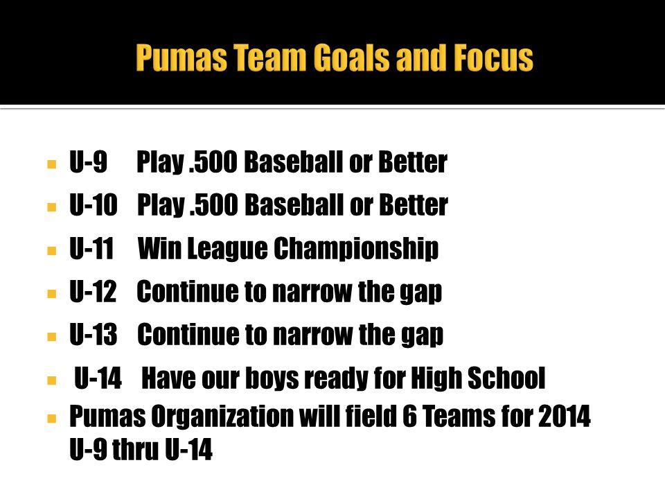Pumas Team Goals and Focus