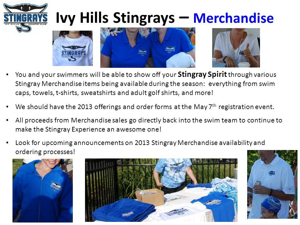 Ivy Hills Stingrays – Merchandise