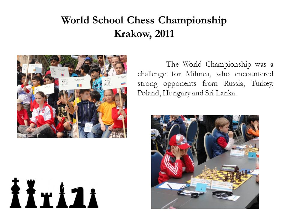 World School Chess Championship Krakow, 2011