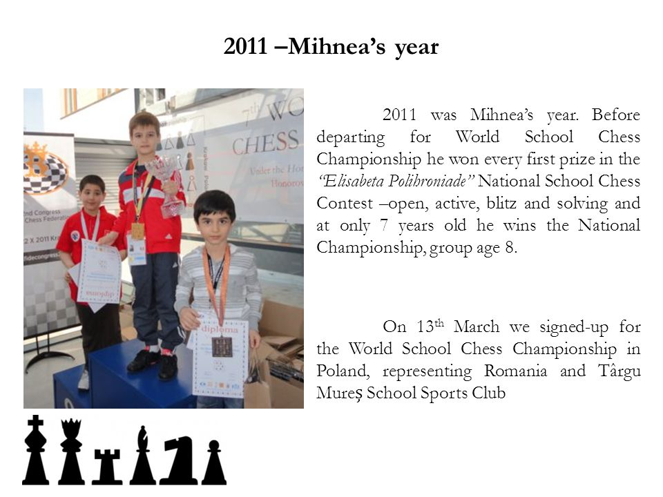 2011 –Mihnea's year