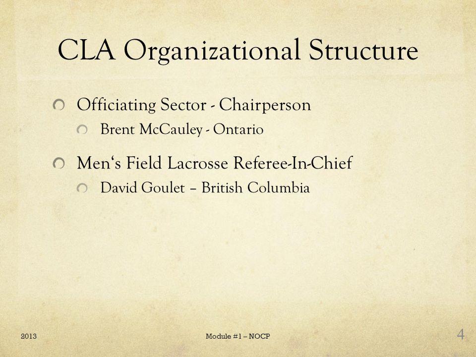 CLA Organizational Structure