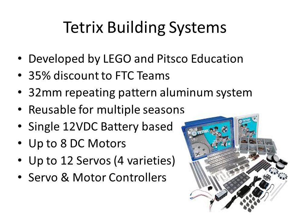 Tetrix Building Systems
