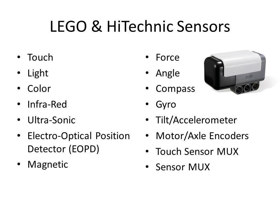LEGO & HiTechnic Sensors