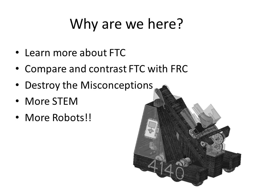 Why are we here Learn more about FTC