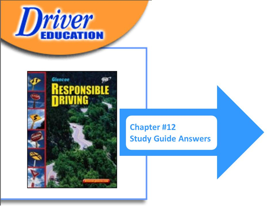 drivers ed answers chapter 12