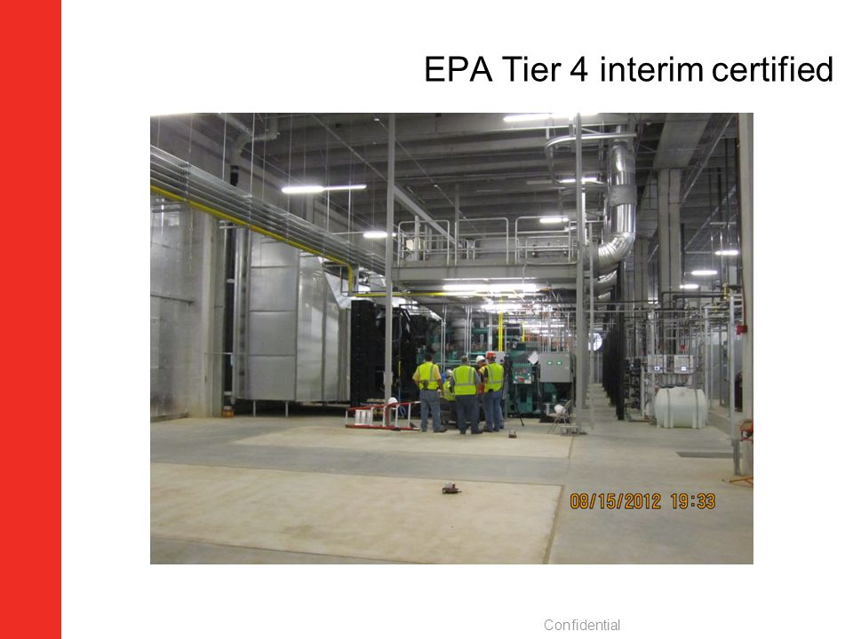 EPA Tier 4 interim certified
