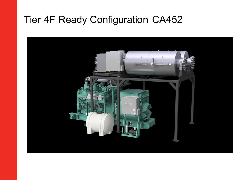 Tier 4F Ready Configuration CA452