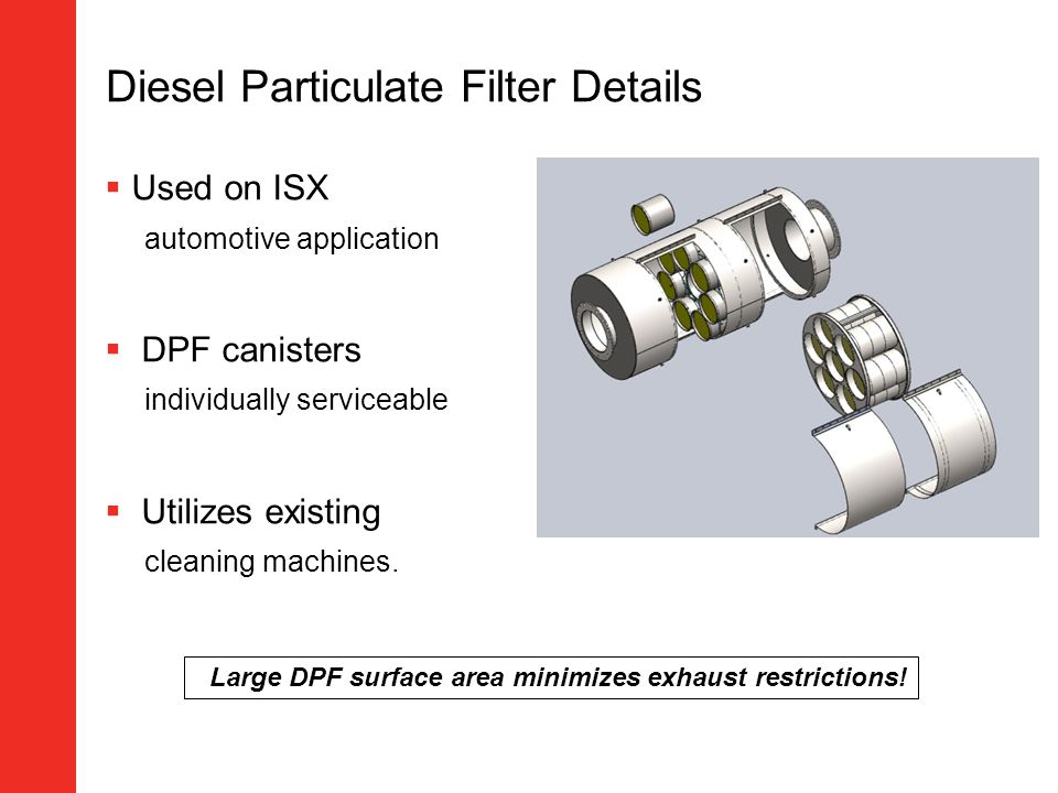 Diesel Particulate Filter Details