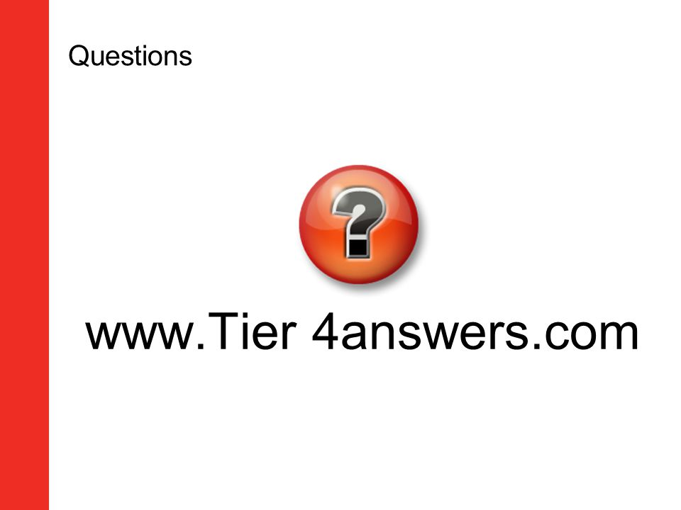 Questions www.Tier 4answers.com