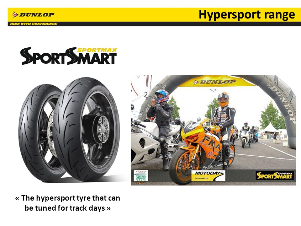 « The hypersport tyre that can be tuned for track days »