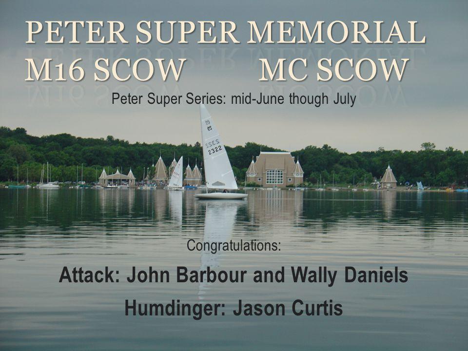 Peter Super Memorial M16 Scow MC Scow
