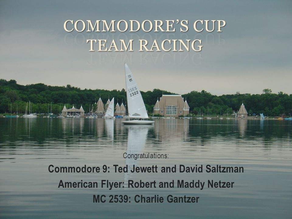 Commodore's Cup Team Racing