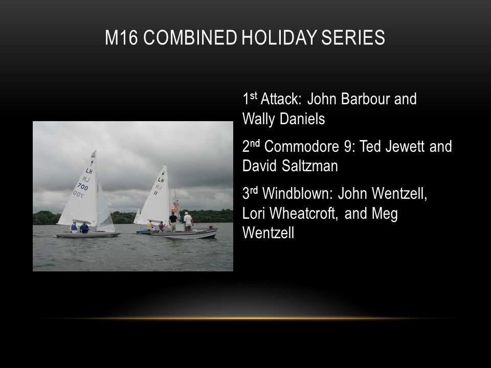 M16 COMbined Holiday Series