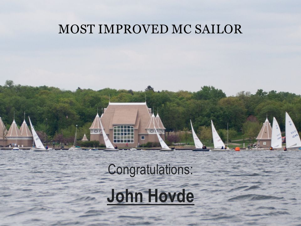 Most Improved MC Sailor