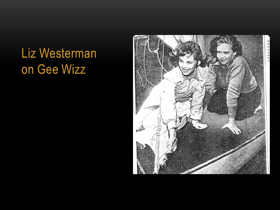 Liz Westerman on Gee Wizz