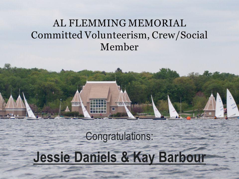 Al Flemming Memorial Committed Volunteerism, Crew/Social Member
