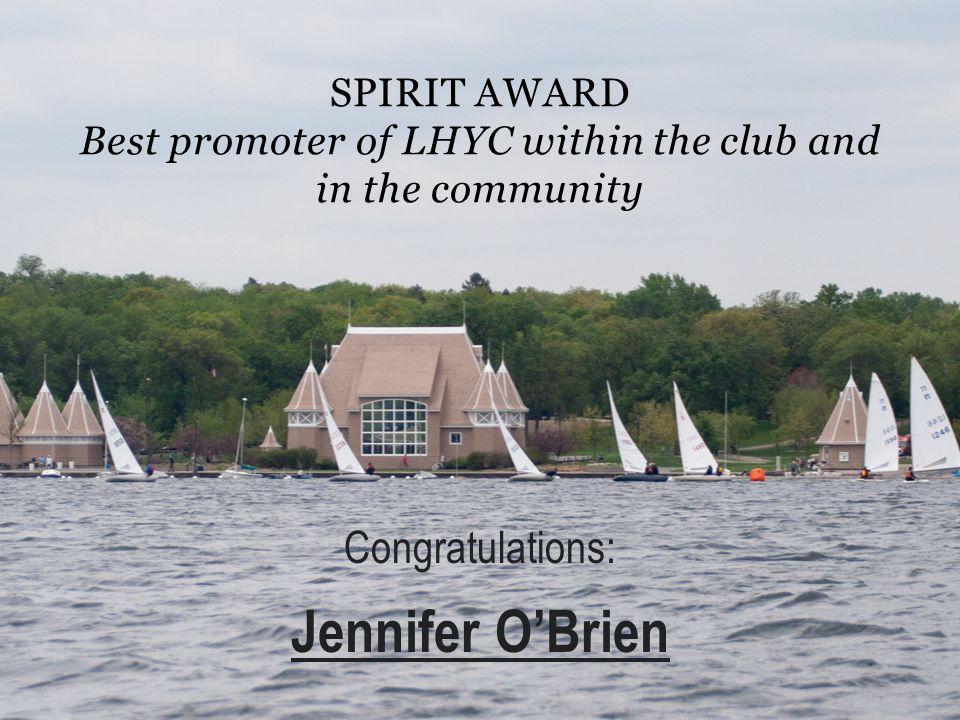 Jennifer O'Brien Congratulations: