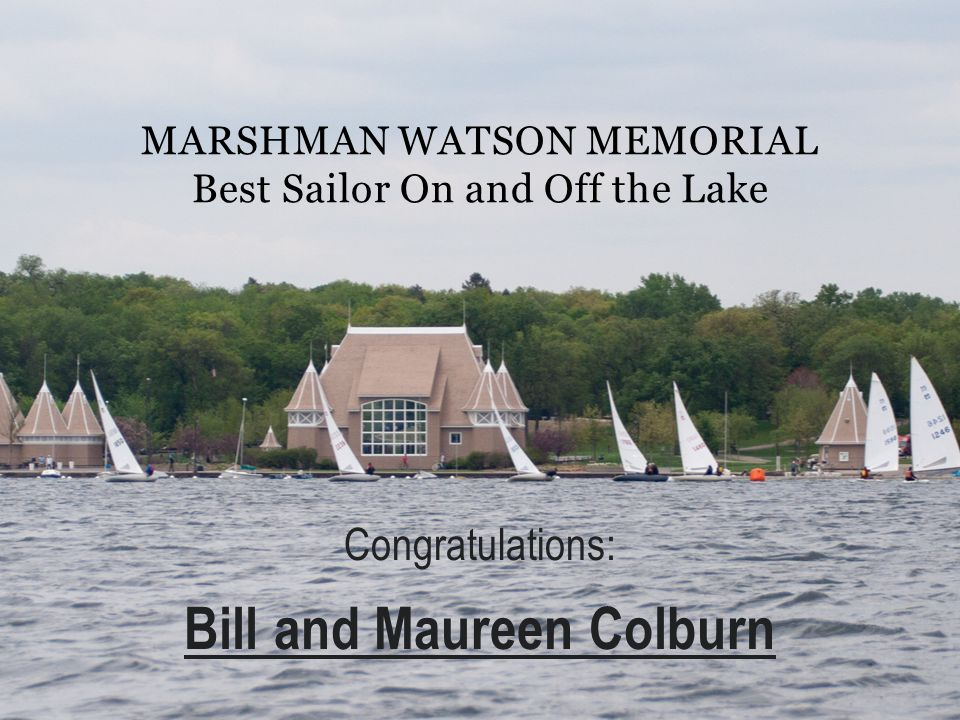 Marshman Watson Memorial Best Sailor On and Off the Lake