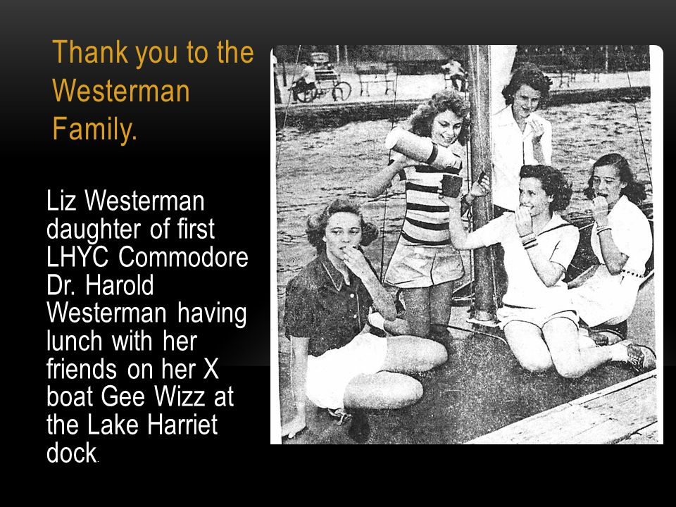 Thank you to the Westerman Family.
