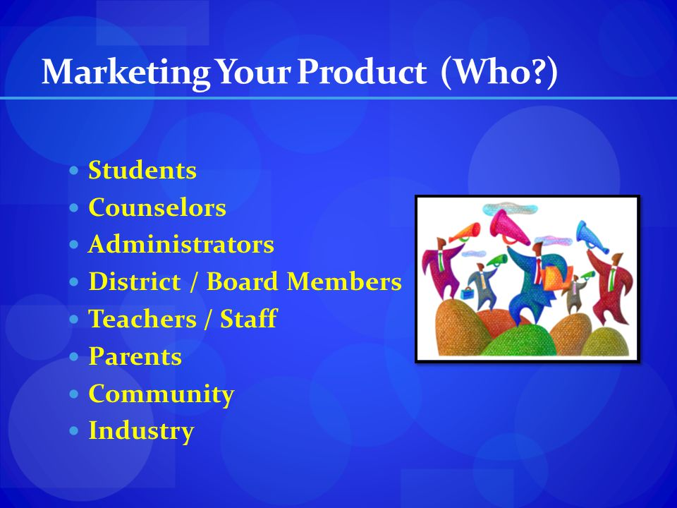 Marketing Your Product (Who )