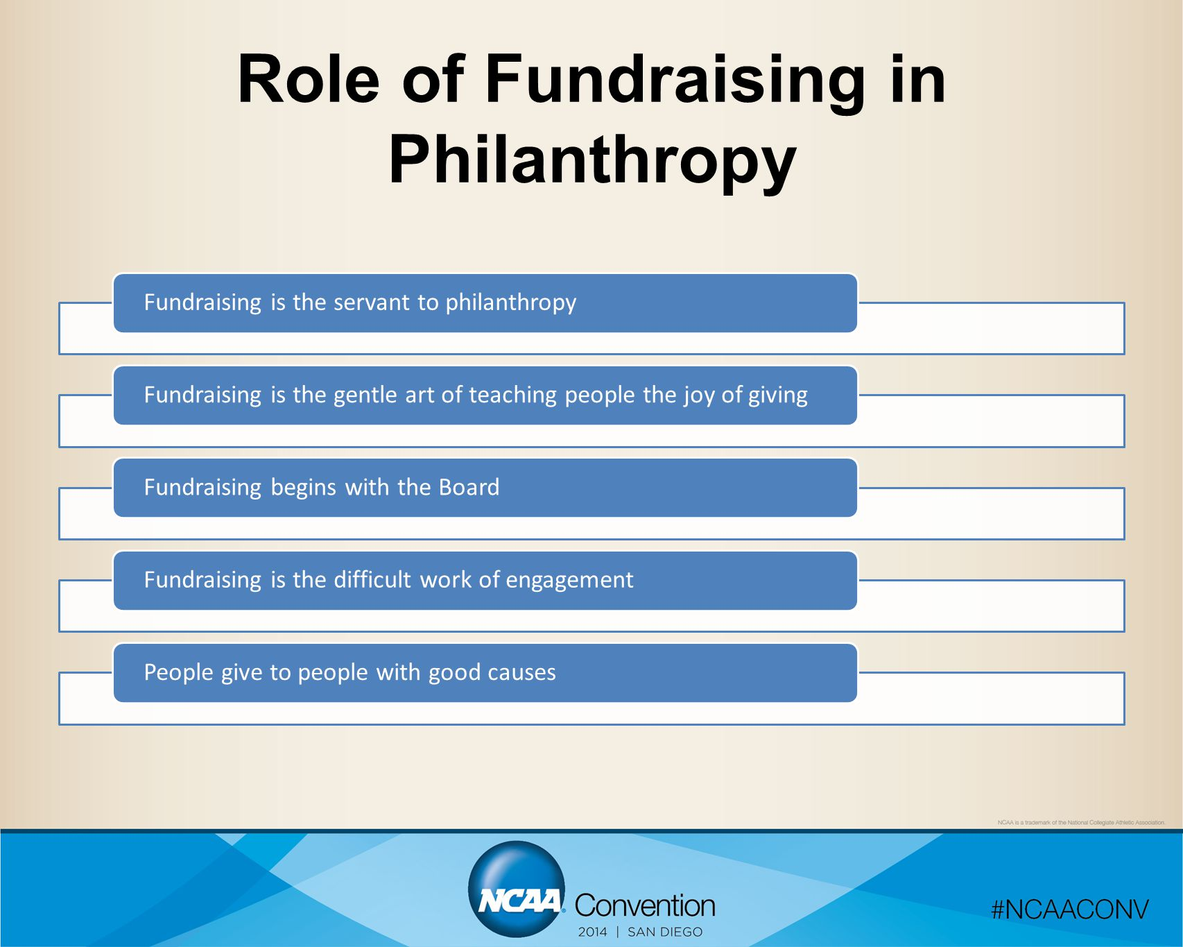 Role of Fundraising in Philanthropy