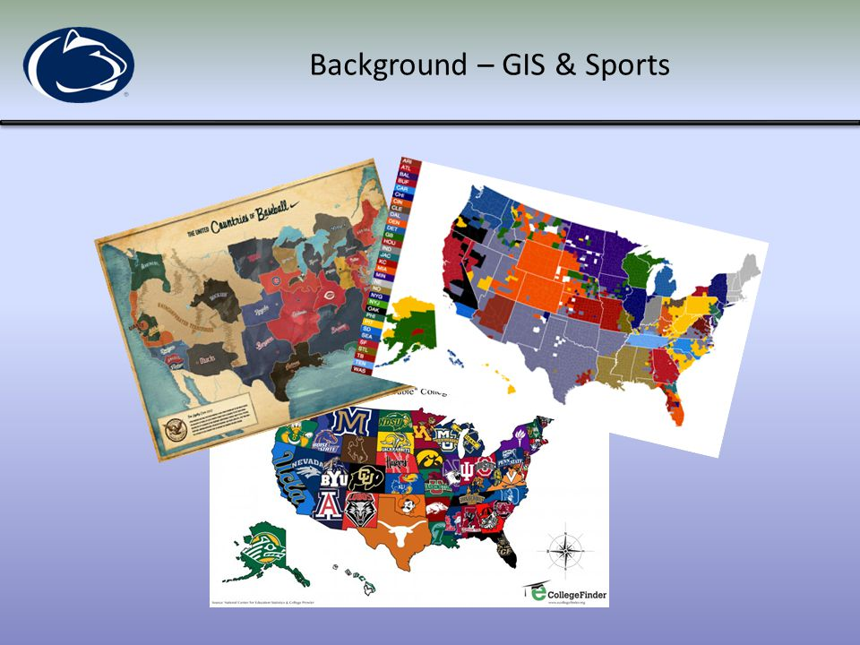 Background – GIS & Sports