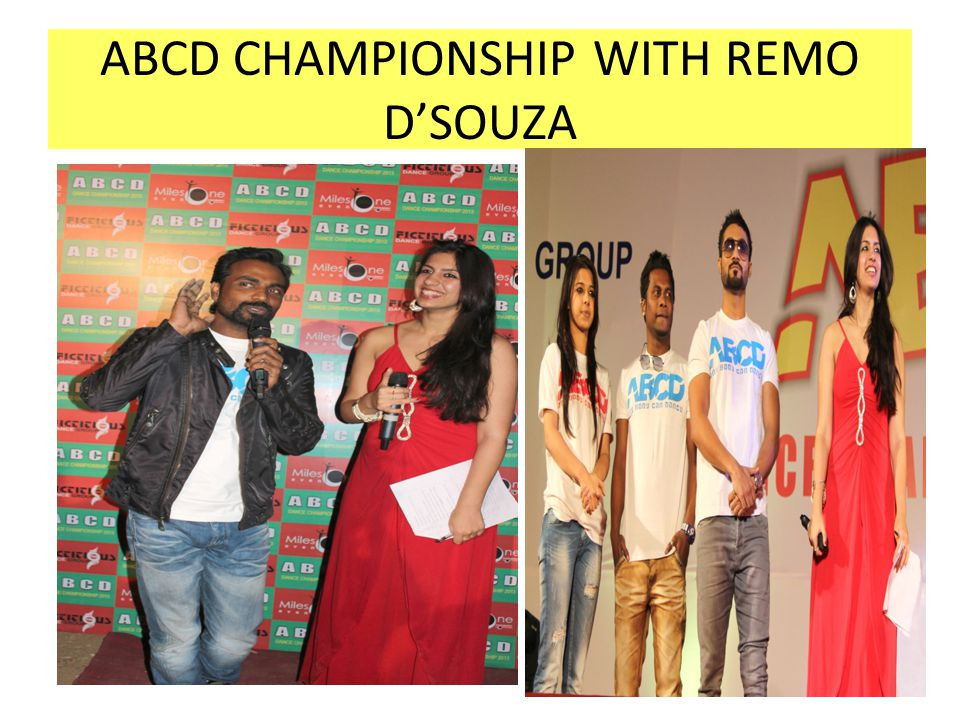 ABCD CHAMPIONSHIP WITH REMO D'SOUZA