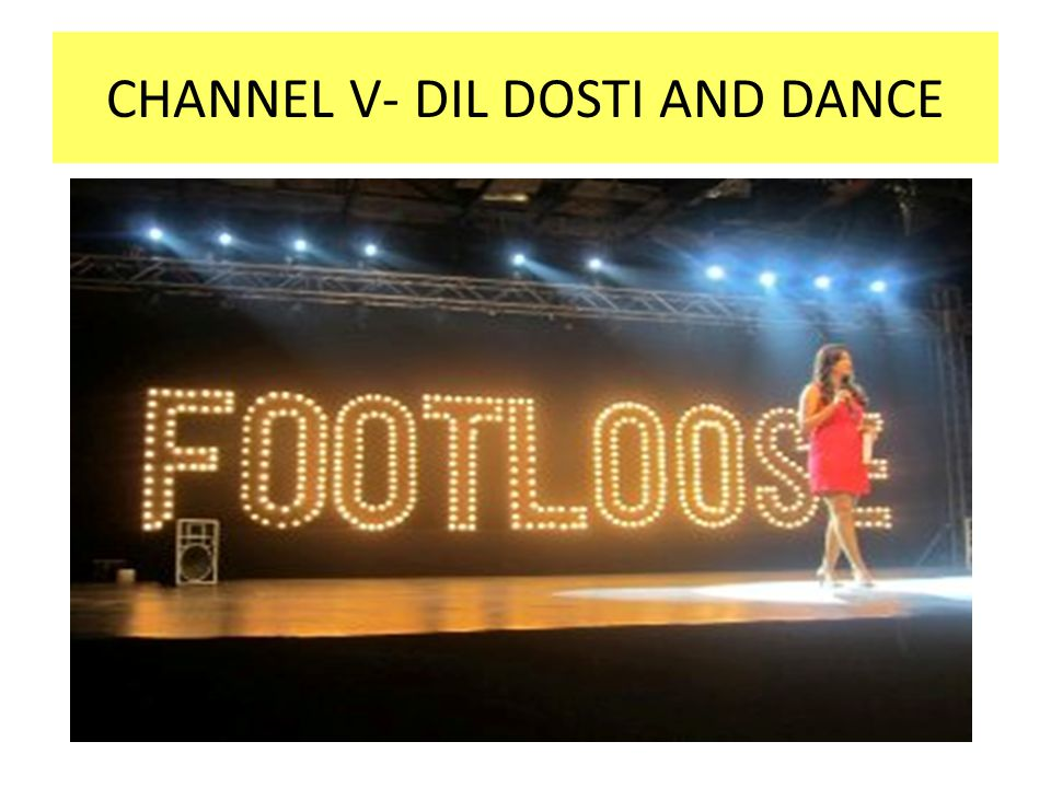 CHANNEL V- DIL DOSTI AND DANCE