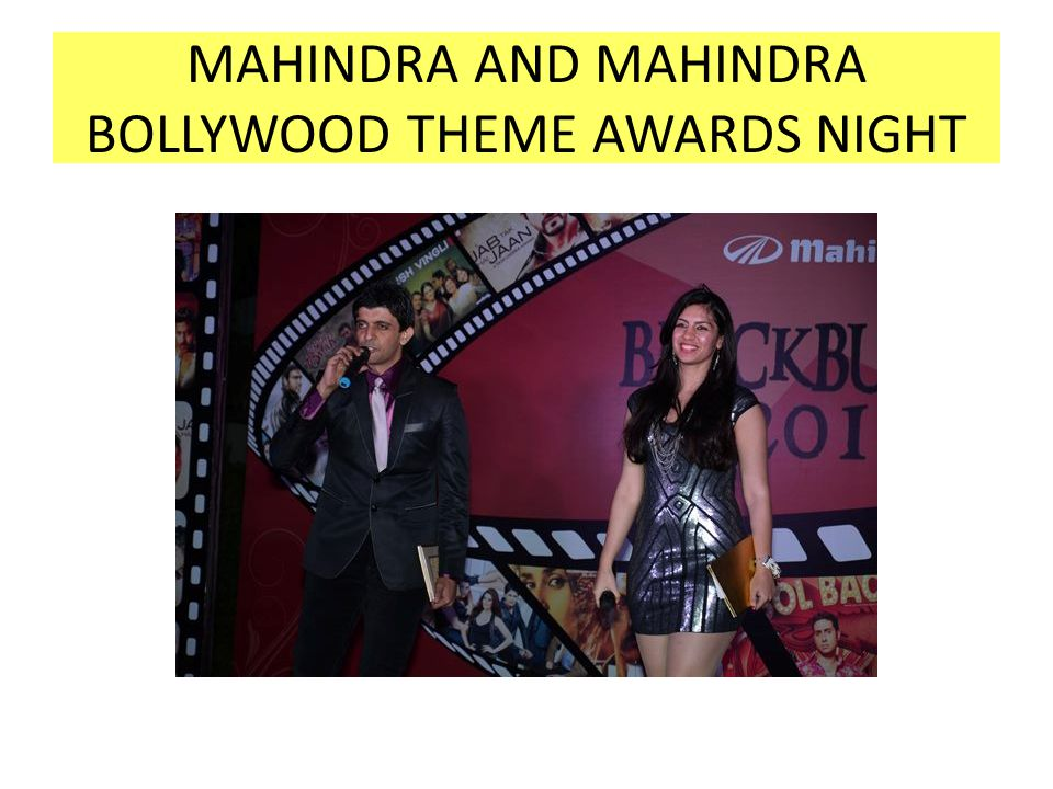 MAHINDRA AND MAHINDRA BOLLYWOOD THEME AWARDS NIGHT