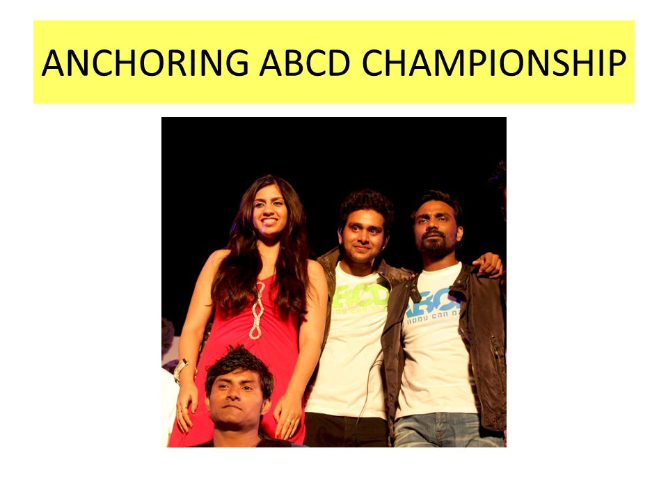 ANCHORING ABCD CHAMPIONSHIP