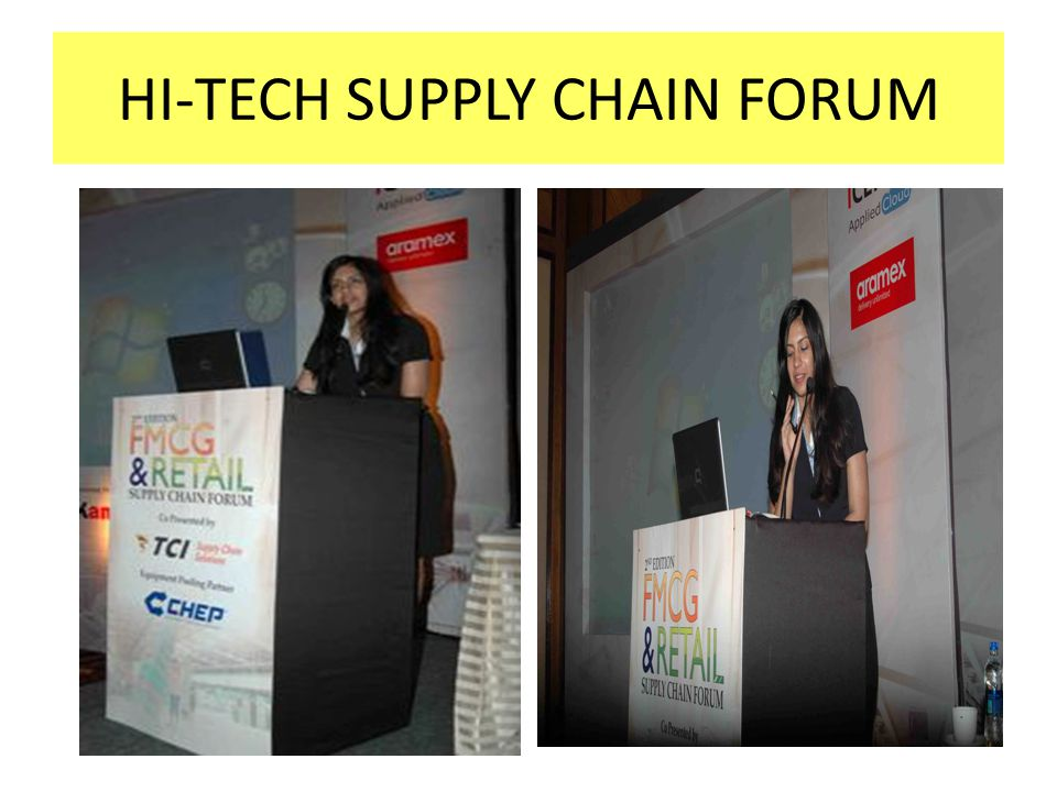 HI-TECH SUPPLY CHAIN FORUM