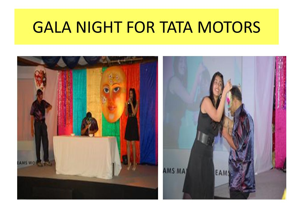 GALA NIGHT FOR TATA MOTORS