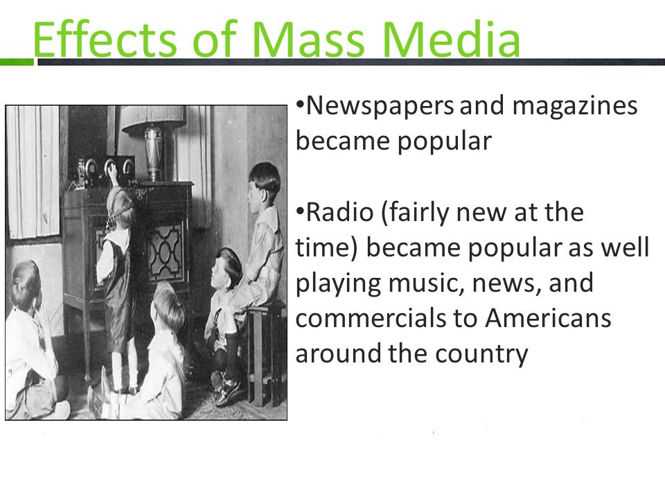 Newspapers and magazines became popular