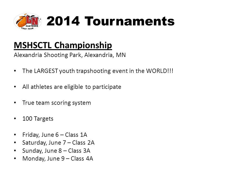 2014 Tournaments MSHSCTL Championship