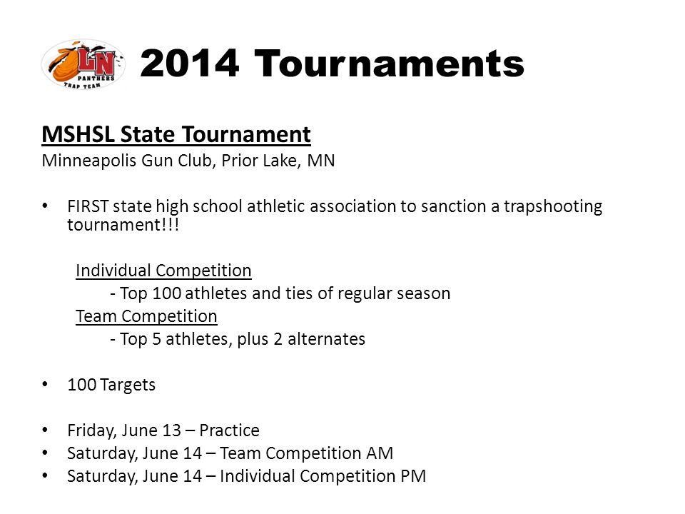 2014 Tournaments MSHSL State Tournament