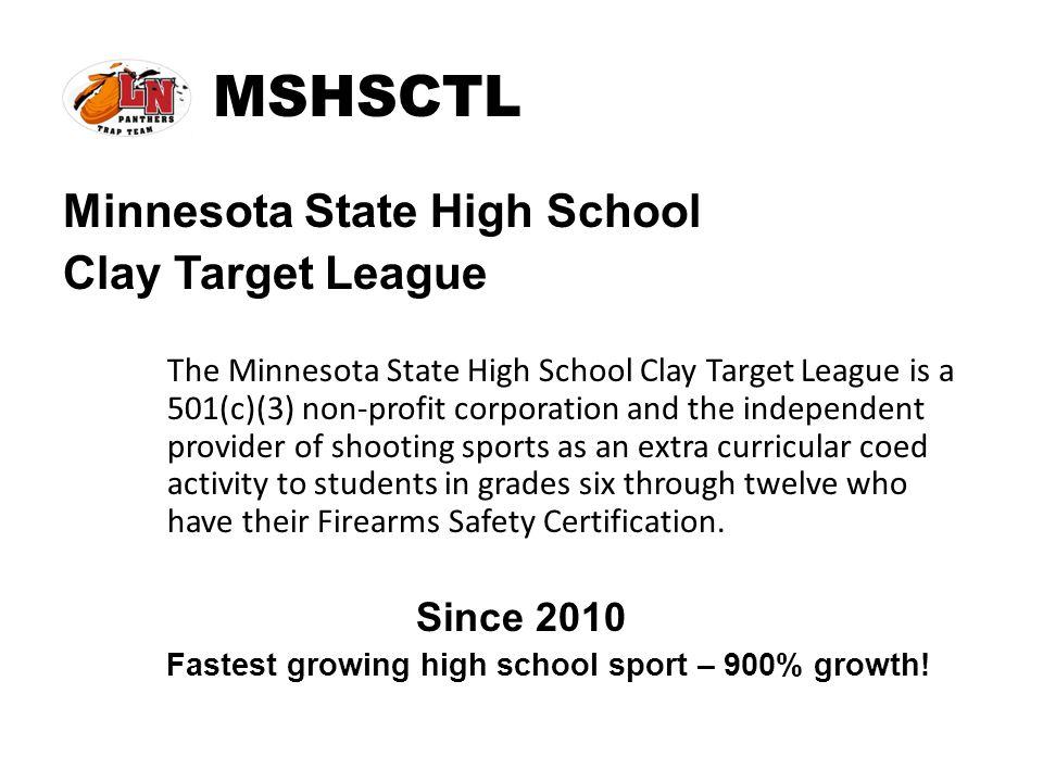 Fastest growing high school sport – 900% growth!