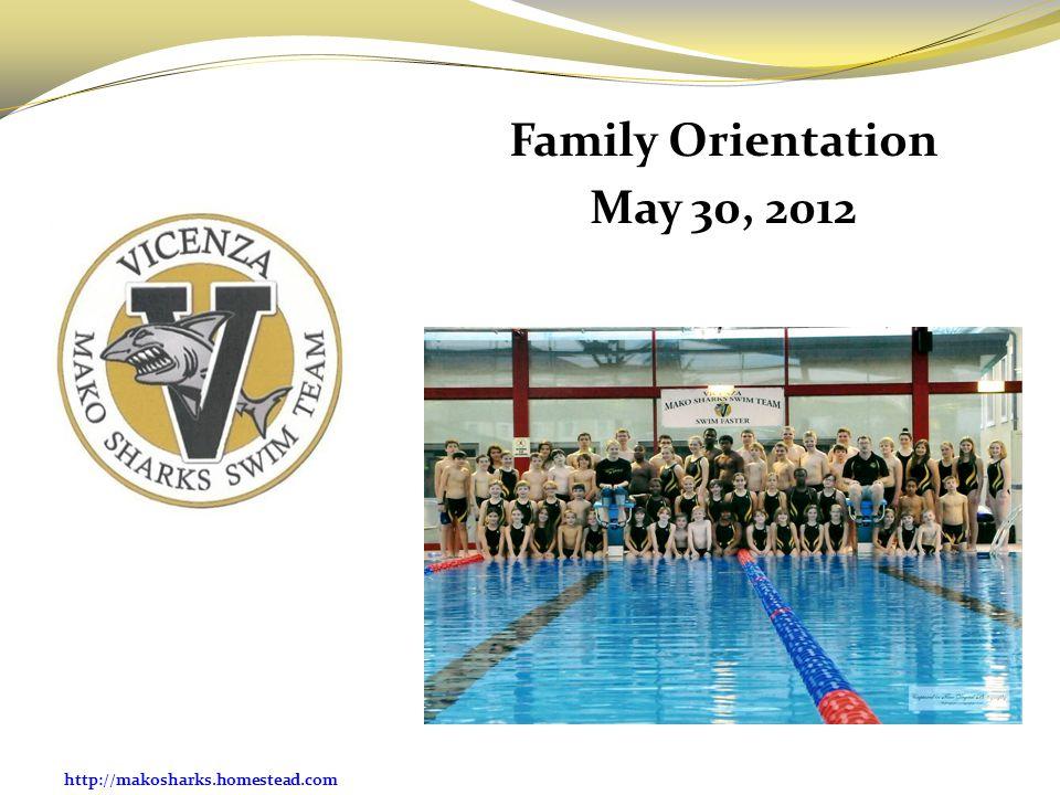 Family Orientation May 30, 2012