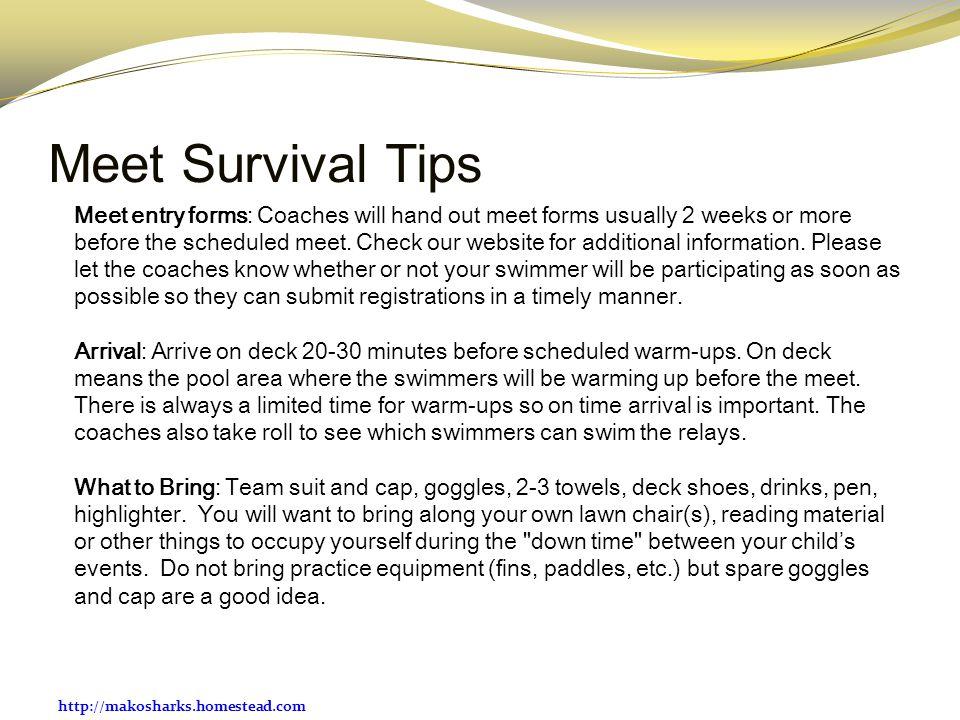 Meet Survival Tips