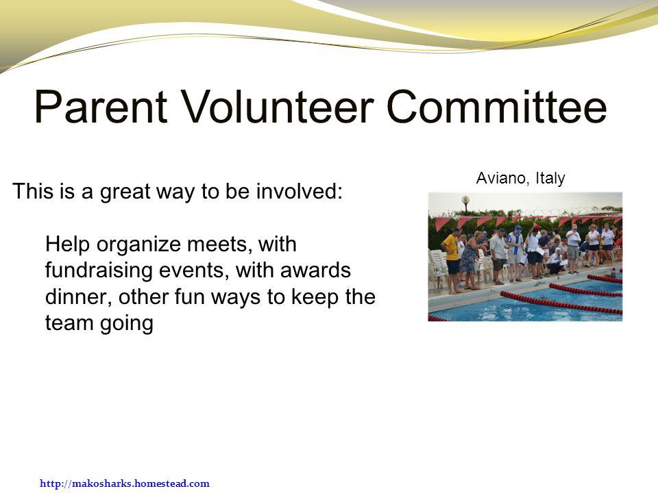 Parent Volunteer Committee