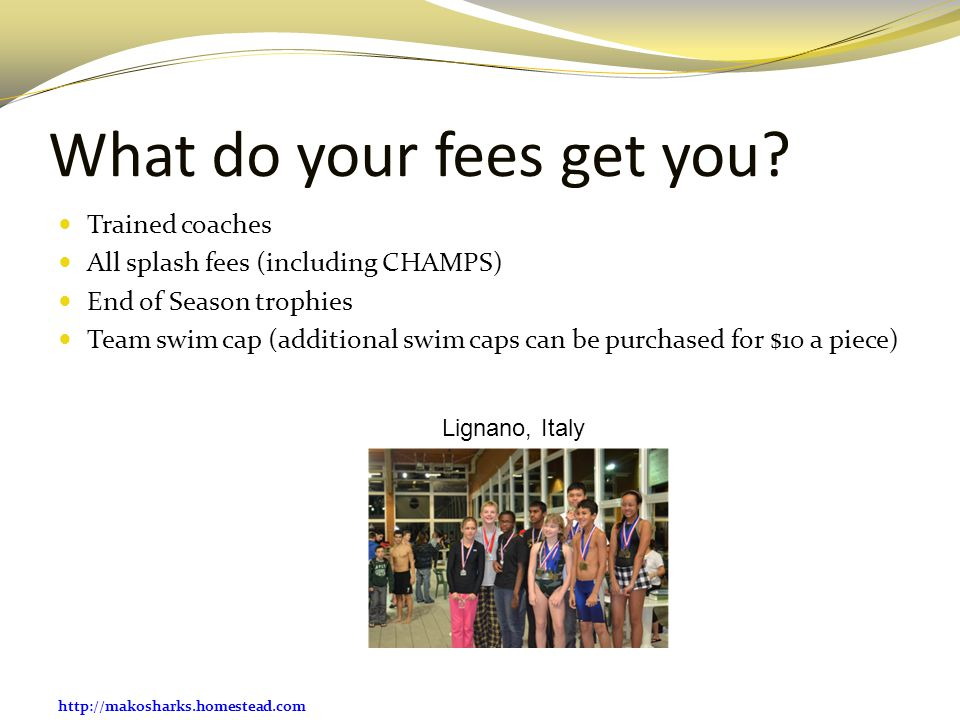 What do your fees get you