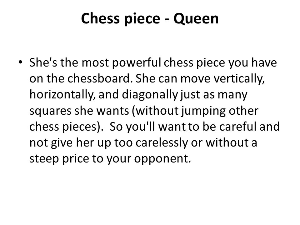 Chess piece - Queen