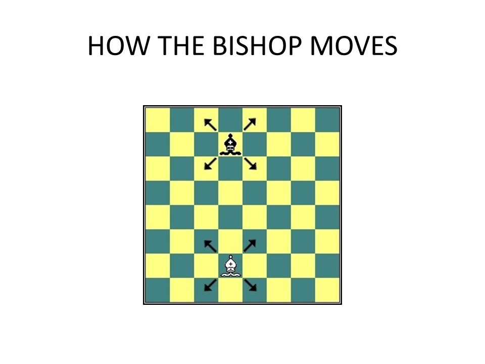 HOW THE BISHOP MOVES
