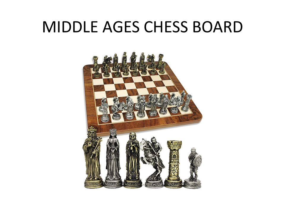 MIDDLE AGES CHESS BOARD