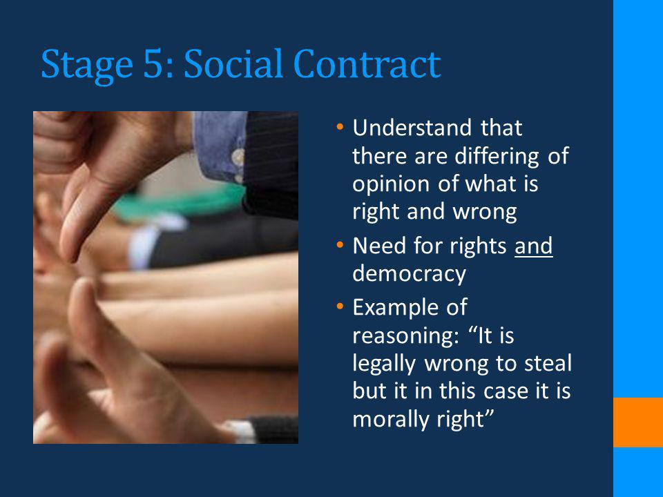 Stage 5: Social Contract