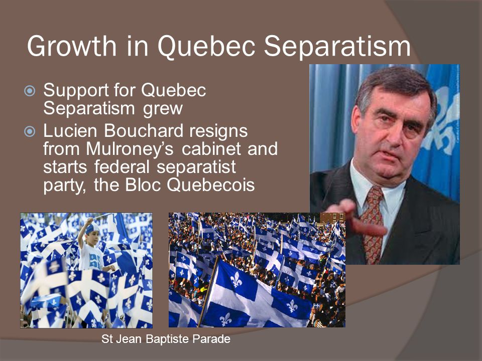 Growth in Quebec Separatism