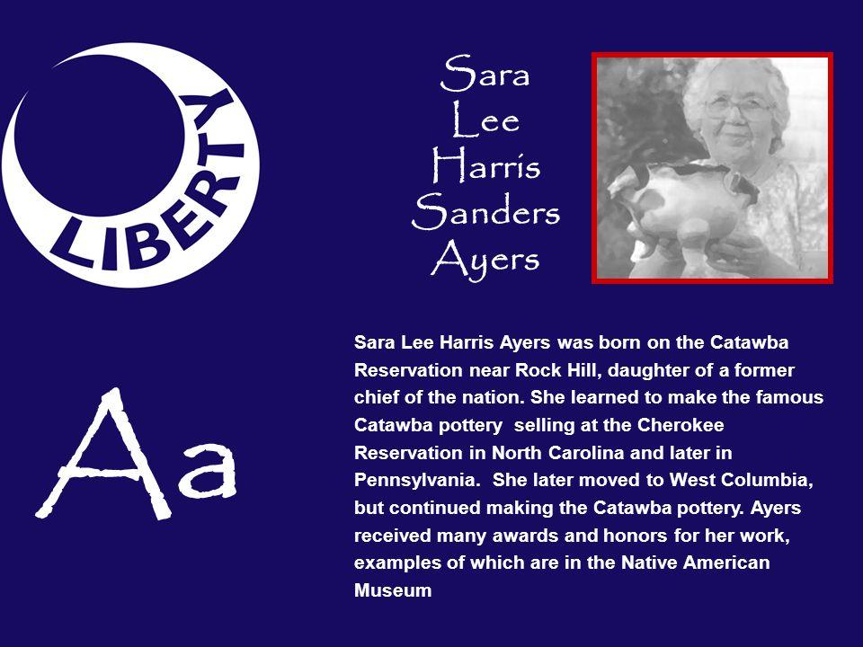 Sara Lee Harris Sanders Ayers